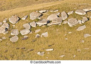 pedra, paisagem