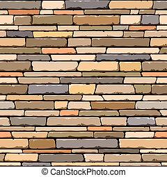 pedra, pattern., seamless, wall.