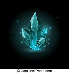 pedra preciosa, ícone