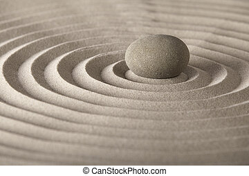 pedra, relaxamento