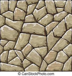 pedra, seamless, padrão