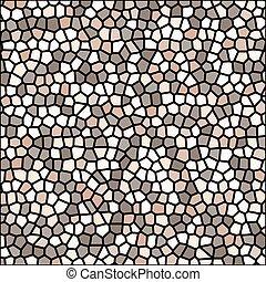 pedra, seixo, textura, mosaico, vetorial, fundo, papel...