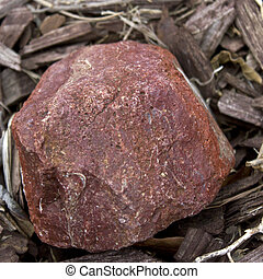 pedra vermelha