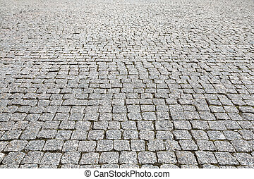 pedra, vindima, textura, pavimento, rua, estrada