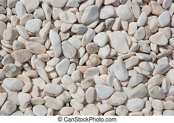 pedras, branca