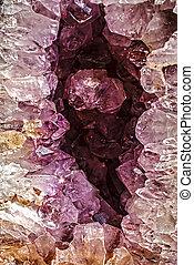 pedras, cristal, 2