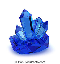 pedras, cristal
