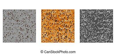 pedras, padrão, jogo, textura