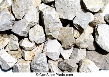 pedras, pedra calcária