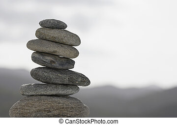 pedras, pilha