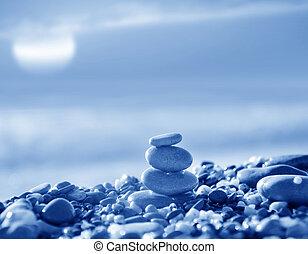 pedras, praia