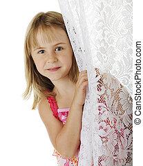 Peek Around the Curtain