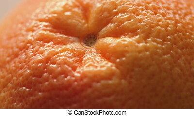 Peel of fresh grapefruit - Footage of fresh grapefruit,...