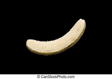 Peeled banana