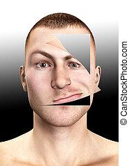 Peeled Face