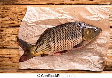 carp on parchment