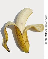 ripe banana - peeled ripe banana