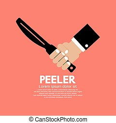 Peeler Kitchen Utensil.