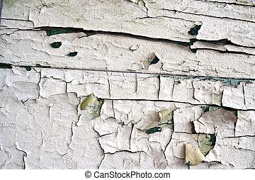Peeling paint - Artistic peeling paint cracks pattern