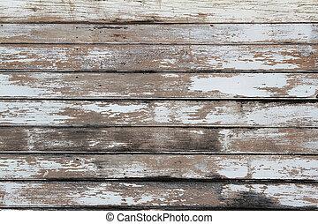 Peeling paint - Closeup of peeling paint on wall
