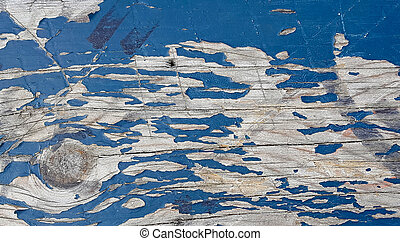 peeling paint on wood background