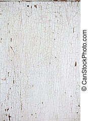 Peeling Paint - Weathered dirty peeling paint on an old...