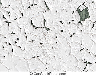 White peeling paint texture, can be used as background for your picture or texture effect for your projects