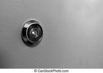 peephole, 門