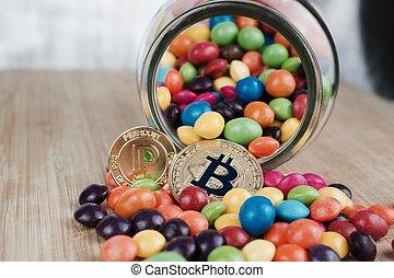 peercoin, bitcoin, or