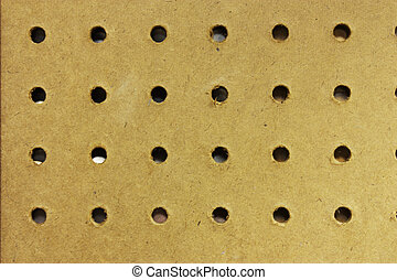 Peg Board - Peg board in a workshop to be used as a...