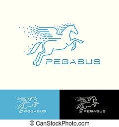 pegasus, logo