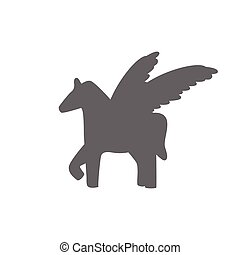Pegasus sign vector illustration