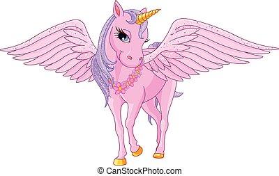pegasus, unicornio