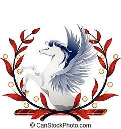 Pegasus Wreath