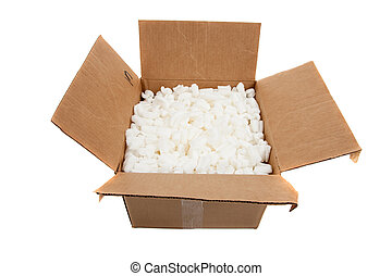 pegatinas, cajas, mudanza, frágil