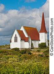 Peggy Cove church