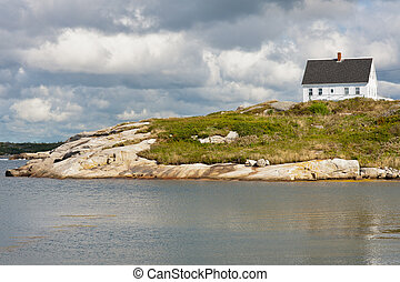 Peggys Cove house