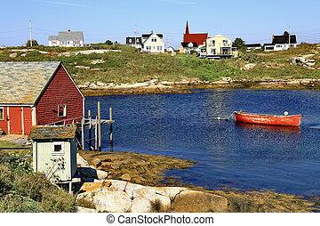 Peggy's Cove Nova Scotia.