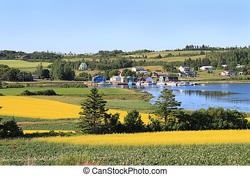 P.E.I. summer landscape