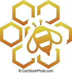 peigne, abeille