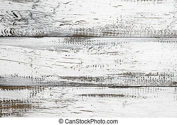 peint, blanc, bois, fond