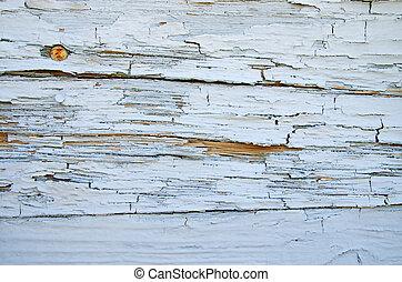 peint, bois, a mûri