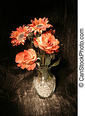 peint, bouquet