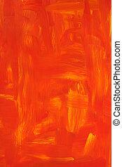 peint, vibrant, huile, fond
