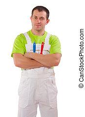 peintre, uniforme