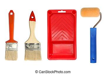 peinture, accessoires