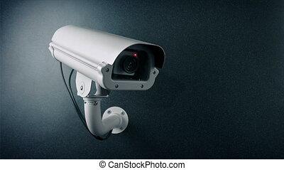 peinture, appareil photo, pulvérisation, surveillance, ...