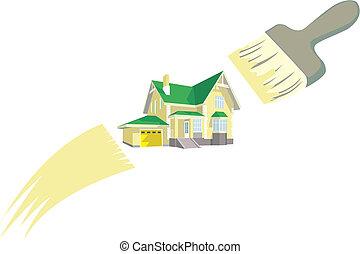 peinture bâtiments