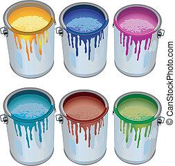 peinture, etains