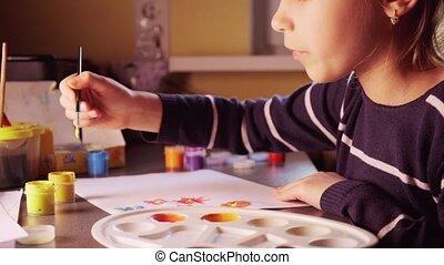 peinture, maison, peintures